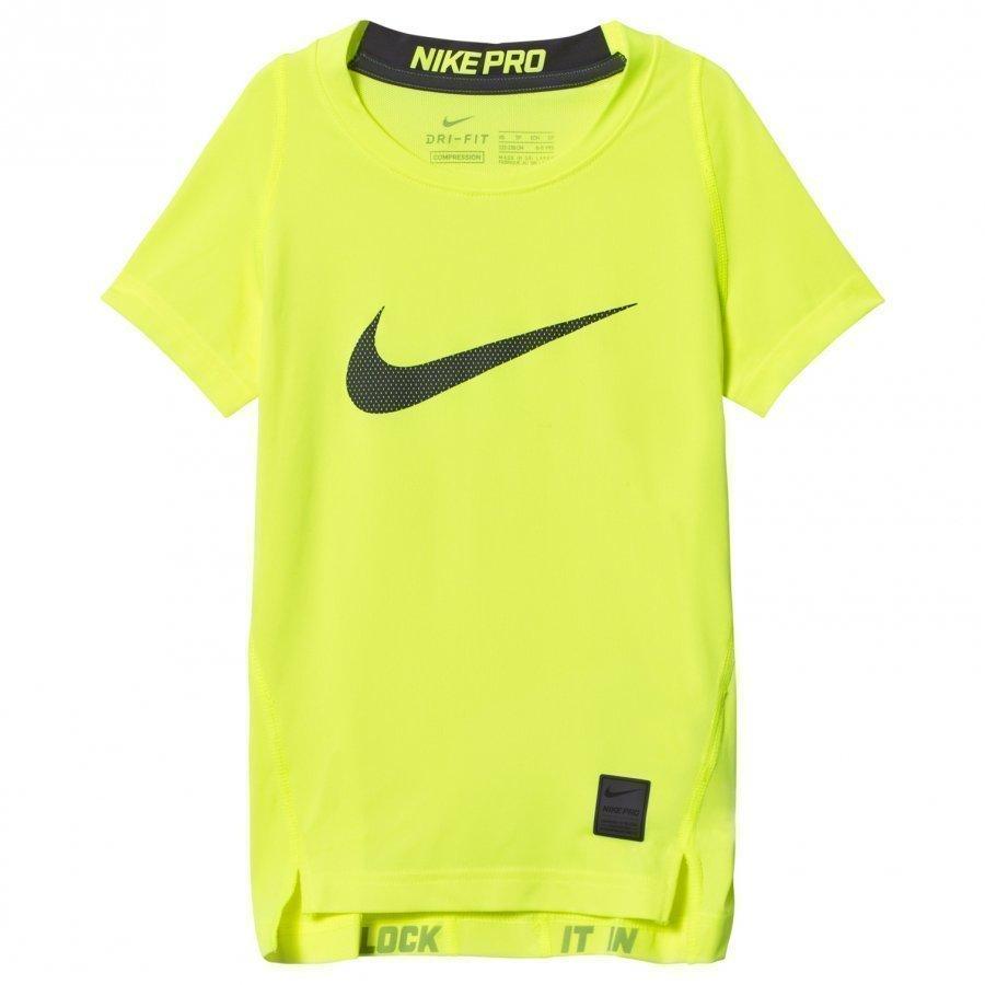 Nike Compression Tee Volt T-Paita