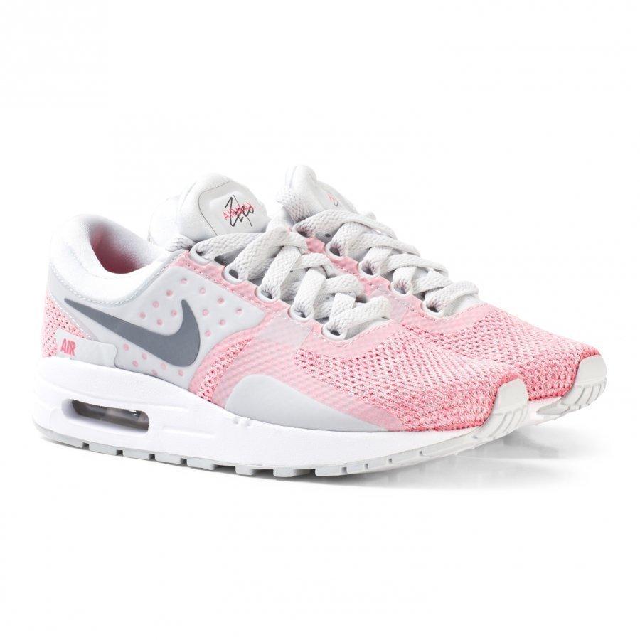 Nike Cool Grey/ Hot Punch/ White Air Max Zero Se Sneaker Lenkkarit