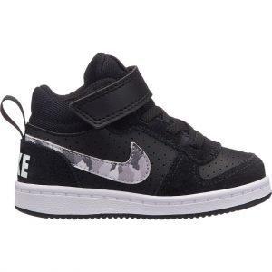 Nike Court Borough Mid Td Kengät Lasten Musta / Camo