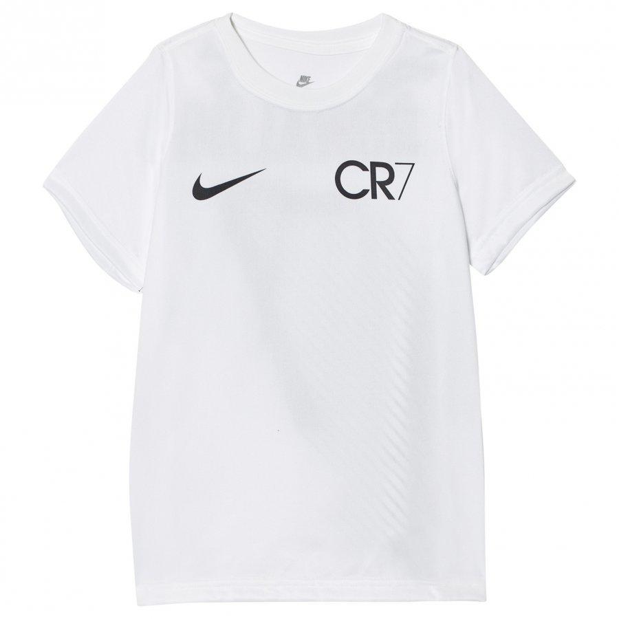 Nike Cr7 Lines T-Shirt White T-Paita
