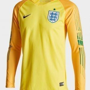 Nike England 2018 Home Goalkeeper Shirt Keltainen