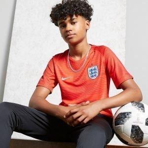 Nike England 2018 Vieraspelipaita Punainen