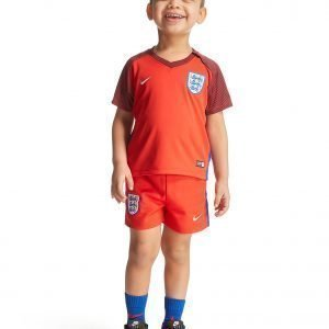 Nike England Away Kit Infant Punainen
