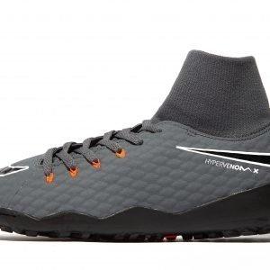 Nike Fast Af Hypervenom Academy Dynamic Fit Tf Harmaa
