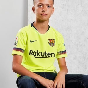 Nike Fc Barcelona 2018/19 Away Shirt Volt / Red / Blue