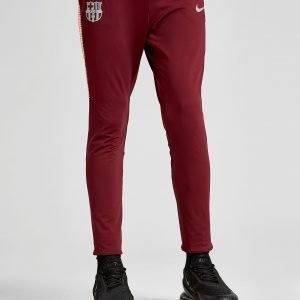 Nike Fc Barcelona Squad Pants Punainen