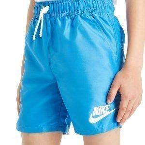 Nike Flow Uimahousut Photo Blue / White