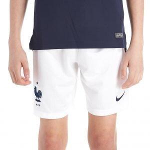 Nike France 2018 Home Shorts Valkoinen