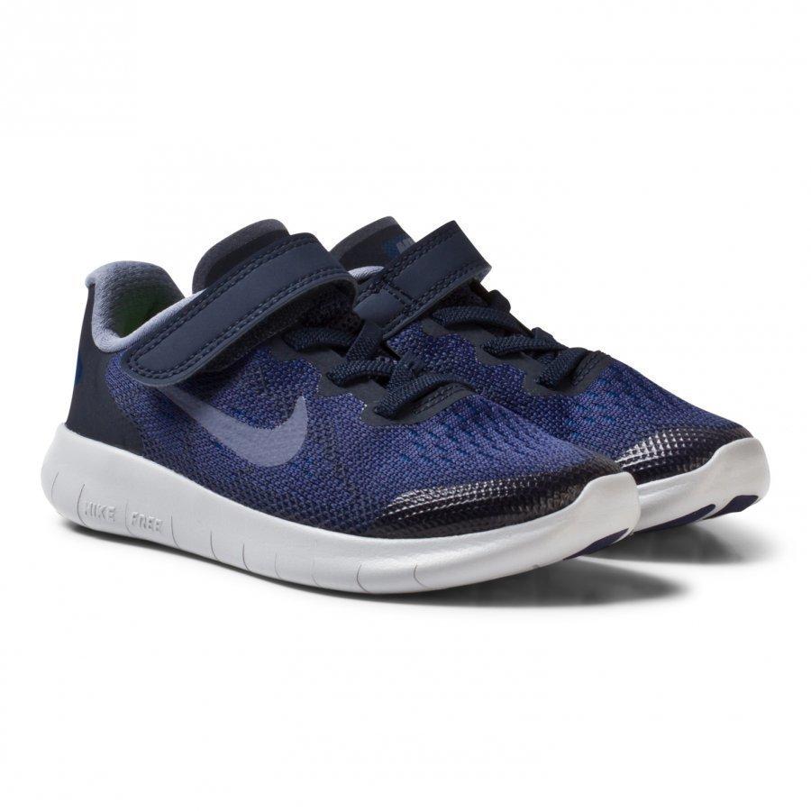 Nike Free Rn 2 Kids Shoe Binary Blue Urheilukengät