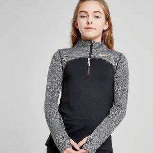 Nike Girls' Element 1/2 Zip Track Top Musta