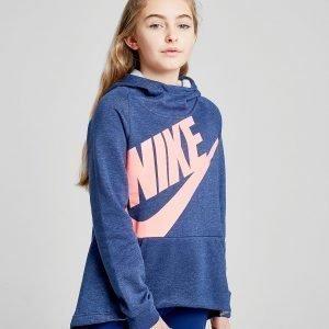 Nike Girls' Futura Hoodie Sininen