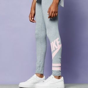 Nike Girls' Futura Tights Harmaa
