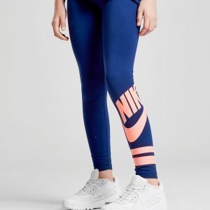 Nike Girls' Futura Tights Sininen