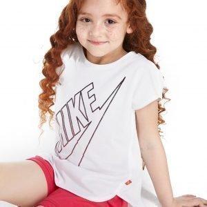 Nike Girls' Gradient Futura T-Shirt Valkoinen