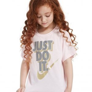 Nike Girls' Just Do It T-Shirt Arctic Pink / Metal