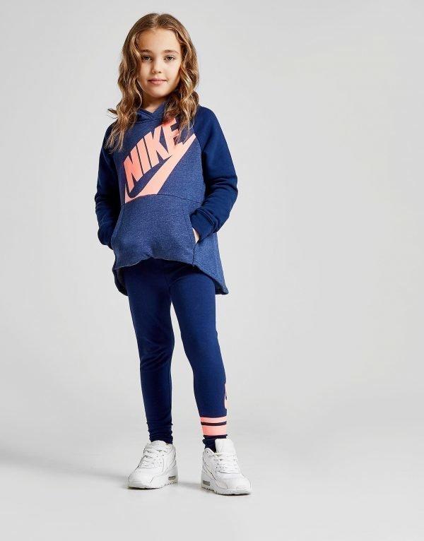 Nike Girls' Longline Verryttelyasu Sininen