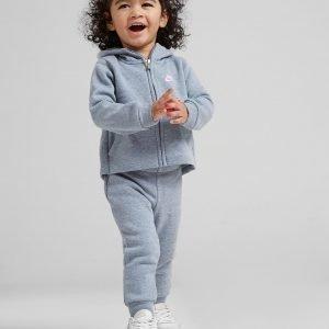 Nike Girls' Modern Full Zip Setti Harmaa