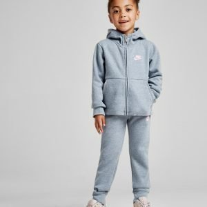 Nike Girls' Modern Full Zip Suit Harmaa