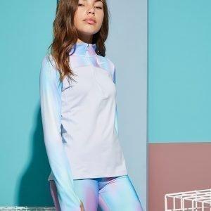 Nike Girls' Unicorn 1/2 Zip Verryttelypaita Valkoinen