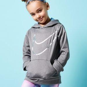 Nike Girls' Unicorn Hoodie Harmaa