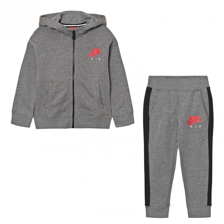 Nike Grey Nike Air Fleece Tracksuit Verryttelyasu