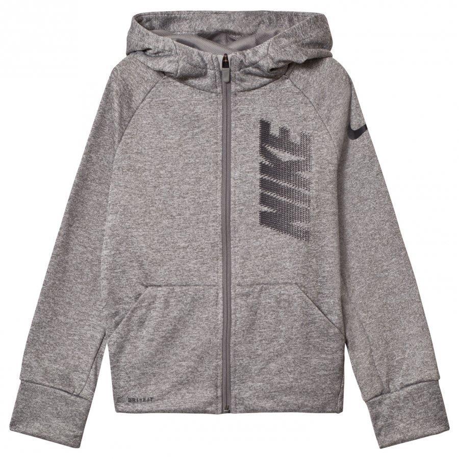 Nike Grey Thermal Gfx Hoodie Huppari