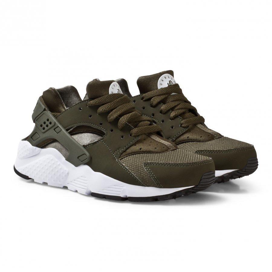 Nike Huarache Junior Run Shoe Green Lenkkarit