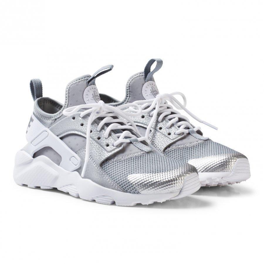 Nike Huarache Run Ultra Sneakers Metallic Silver Lenkkarit