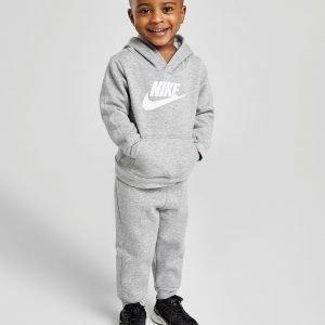 Nike Hybrid Overhead Tracksuit Infant Harmaa