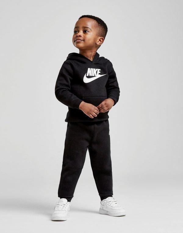 Nike Hybrid Overhead Tracksuit Infant Musta