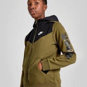 Nike Just Do It Full Zip Hoodie Vihreä