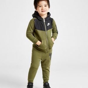 Nike Just Do It Full Zip Tracksuit Infant Vihreä