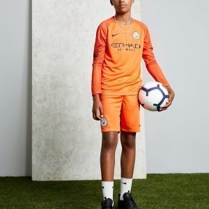 Nike Manchester City 18 / 19 Home Goalkeeper Shorts Jnr Oranssi