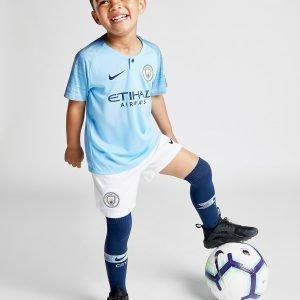 Nike Manchester City 18 / 19 Kotiasu Sininen