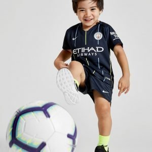 Nike Manchester City Fc 2018/19 Away Kit Infant Laivastonsininen