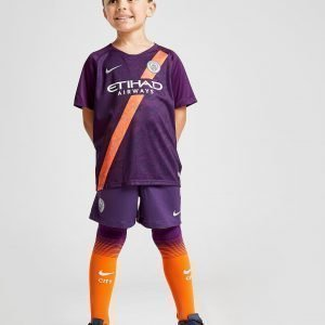 Nike Manchester City Fc 2018/19 Third Kit Violetti