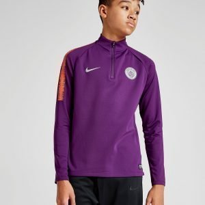 Nike Manchester City Fc Squad Drill Top Violetti