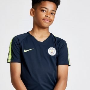 Nike Manchester City Fc Squad Shirt Laivastonsininen