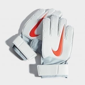 Nike Match Goalkeeper Fa 2018 Gloves Platinum / Red