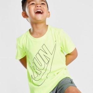 Nike Miler Run Top Keltainen
