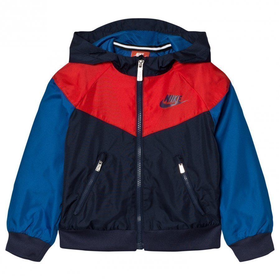 Nike Multi Coloured Obsidian Windbreaker Jacket Tuulitakki