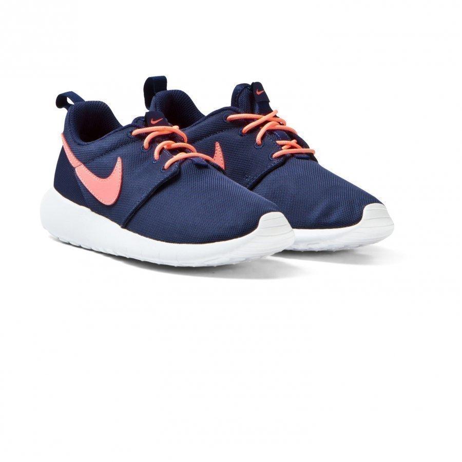 Nike Navy And Pink Roshe One Trainers Lenkkarit