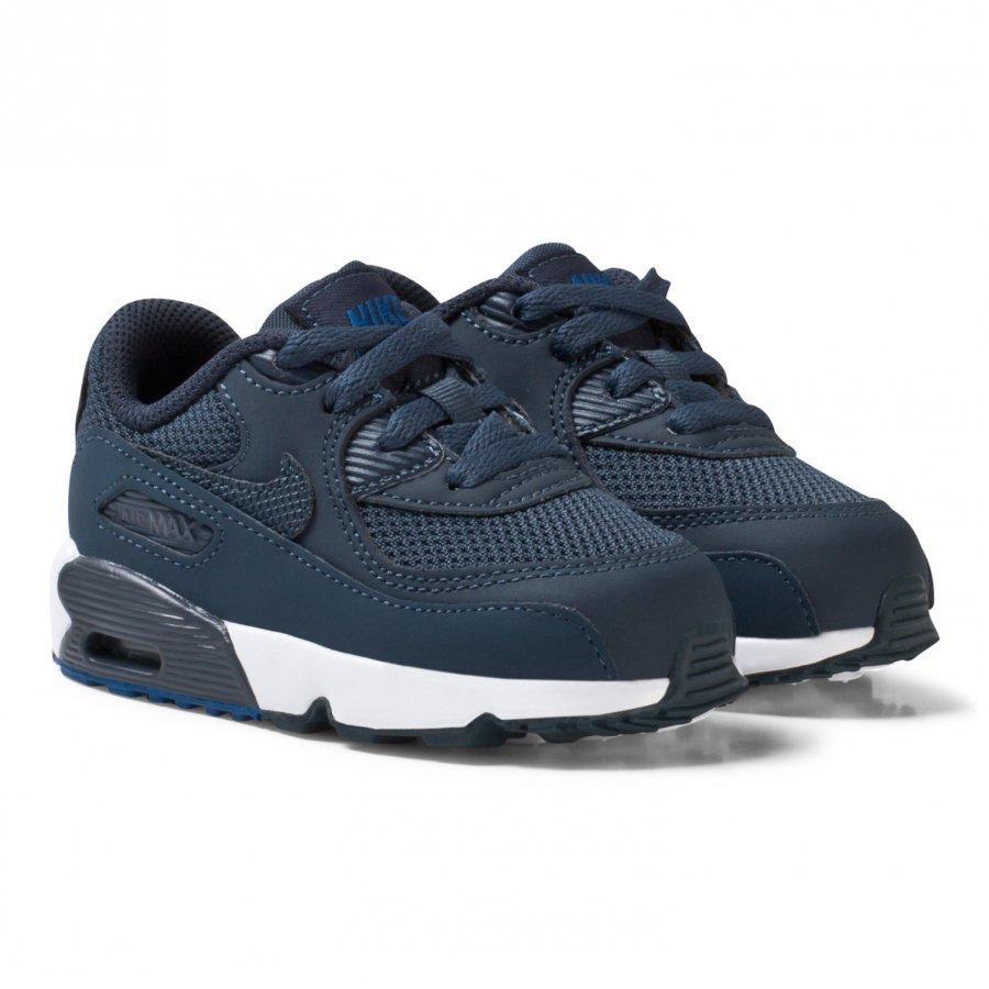 Nike Navy Nike Air Max 90 Mesh Infant Shoe Lenkkarit