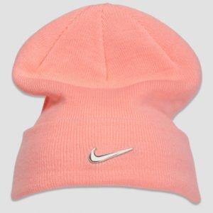 Nike Nike Beanie Metal Swoosh Hattu Vaaleanpunainen