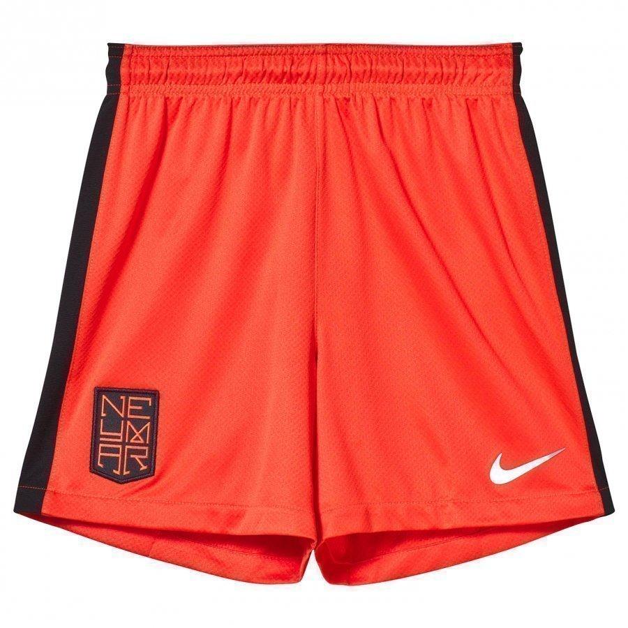 Nike Orange Neymar Squad Shorts Urheilushortsit