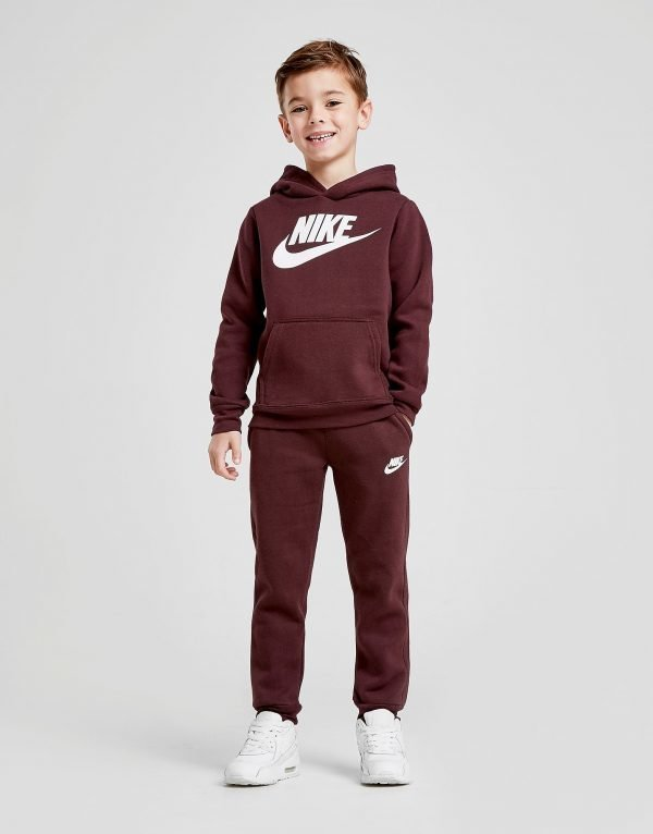Nike Overhead Suit Burgundy / White