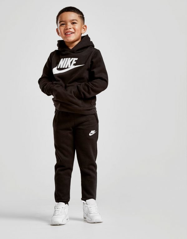 Nike Overhead Suit Musta
