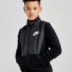 Nike Overlay Polar 1/2 Zip Fleece Musta