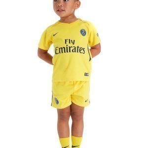 Nike Paris Saint Germain 2017 Away Kit Infant Keltainen