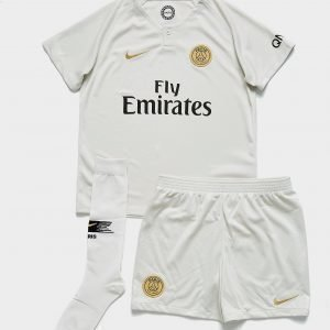 Nike Paris Saint Germain 2018/19 Away Kit Valkoinen